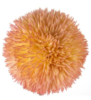 Fiore artificiale modello Allium rosa in polietilene espanso. Dimensioni: H75cm