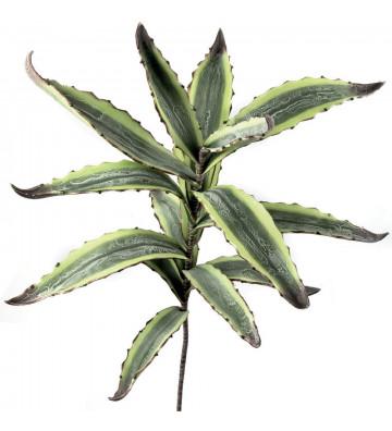 Agave artificiale realizzata in polietilene espanso. agave finto verde. Dimensioni: H100 cm