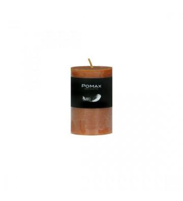 CANDELA arancione Ø5XH8 CM DISPONIBILE IN DIVERSI COLORI REALIZZATA IN PARAFFINA. candela pomax. candela arancione Ø5XH8 CM.