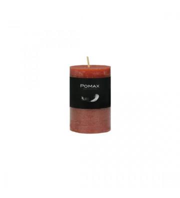 CANDELA rossa Ø5XH8 CM DISPONIBILE IN DIVERSI COLORI REALIZZATA IN PARAFFINA. candela pomax. candela rossa Ø5XH8 CM.