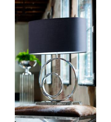 LAMPADA OMEGA ARGENTO 38x18x53 CM-LIGHT&LIVING