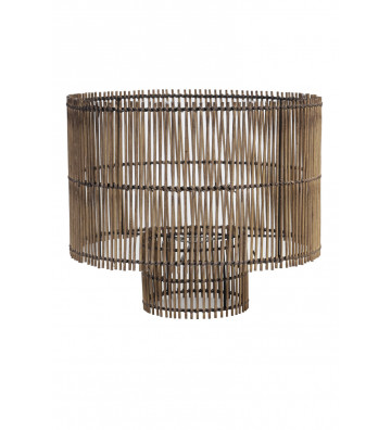 PARALUME ROTONDO IN BAMBOO Ø40 CM-LIGHT&LIVING