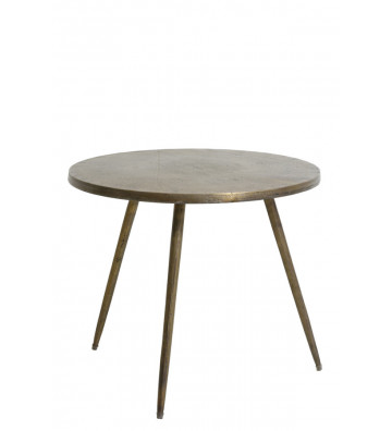 COFFE TABLE COLOR BRONZO Ø59 CM-LIGHT&LIVING