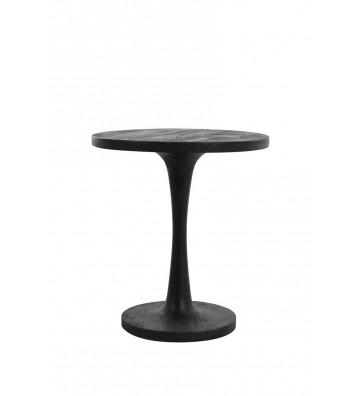 COFFE TABLE IN LEGNO NERO Ø 50 CM -LIGHT&LIVING