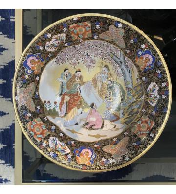 Ciotola in porcellana antica cinese manifattura originale ø33cm - nardini forniture
