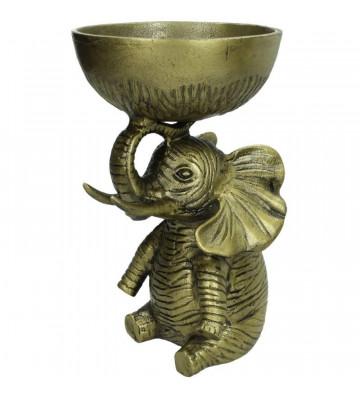 Bowl Elefante oro 26x15x15cm - KERSTEN NARDINI FORNITURE