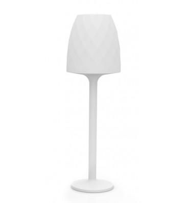 LAMPADA DA ESTERNO BIANCA RETROILLUMINATA CON LED ø68x220cm