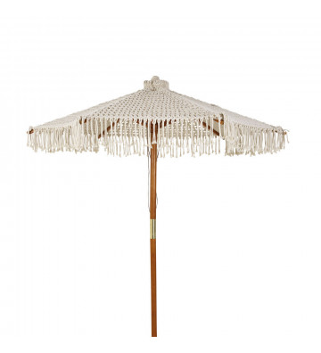Ombrello Macrame con palo in legno ø250cm - nardini forniture
