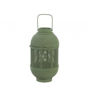 Lanterna Patou in bamboo verde salvia Ø20x36,5cm - l oca nera- nardini forniture