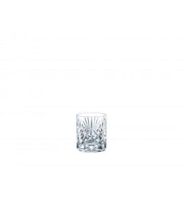 Bicchiere da Whisky in cristallo trasparente disegno geometrico - Riedel - Nardini Forniture