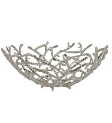 Portafrutta coralli argento Ø45 cm - Light&Living - Nardini Forniture