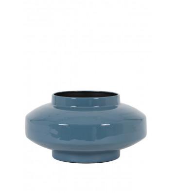 Vaso blu lucido ø34 cm - Light&Living - Nardini Forniture