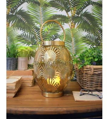 Lanterna oro stile jungle - Nardini Forniture