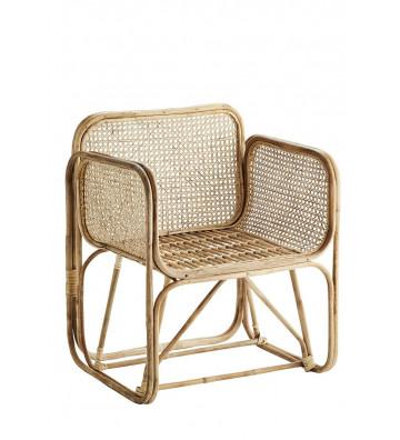 Poltrona di design in bambù modello Nadine - Nardini Forniture