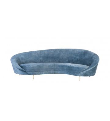 Divano Jane in velluto carta da zucchero 230x133x83cm - Nardini Forniture - pure collection jane sofa