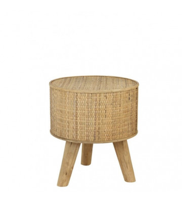 Side Table Canya in rattan color naturale 35x39cm - Light&Living - Nardini Forniture