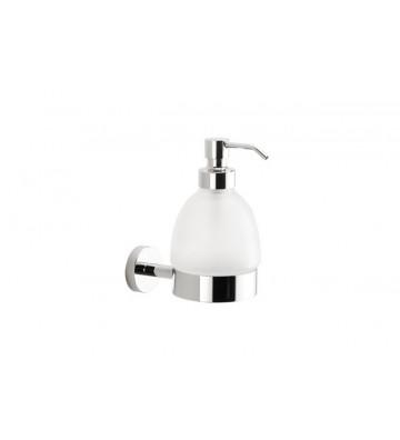 Dispenser sapone a muro Sintesi cromato L80xP120xH140 CM - Segni e Disegni - Nardini Forniture