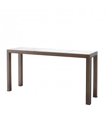 Consolle table Tardieu in ottone e marmo 150x40xH76,5 cm - Eichholtz - Nardini Forniture
