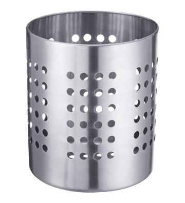 Portaposate tondo in acciaio inox ø12x14,5cm - Schonhuber - Nardini Forniture
