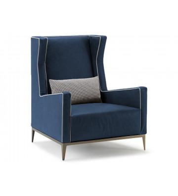 Poltrona blu Goldfinger Arketipo - Design by Dainelli Studio - Nardini Forniture