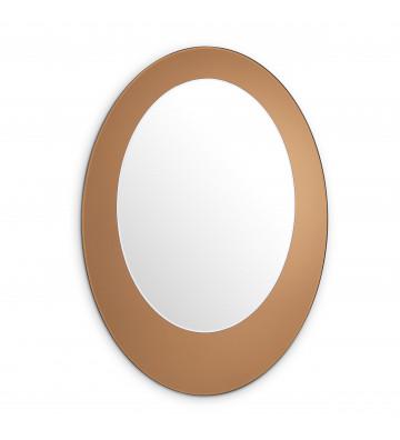 Specchio DeVito Ovale Ambra 63xH90 cm - Eichholtz -  Nardini Forniture