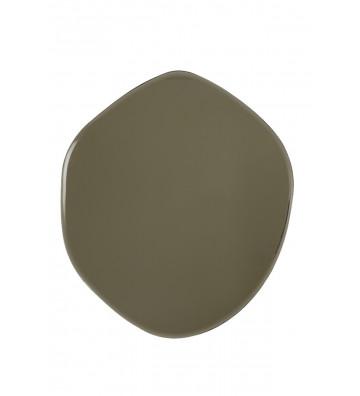 Specchio Vido con vetro colorato kaki 85x74cm - Light&Living - Nardini Forniture