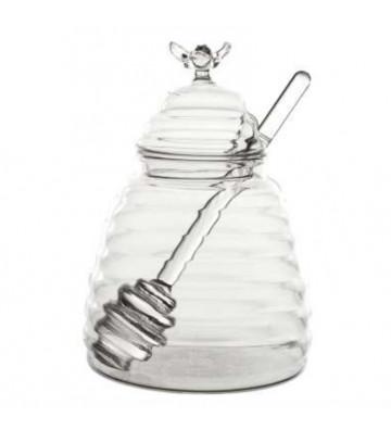 Vasetto per miele Papille in vetro 40cl ø10x13,5cm - Cote table - Nardini Forniture