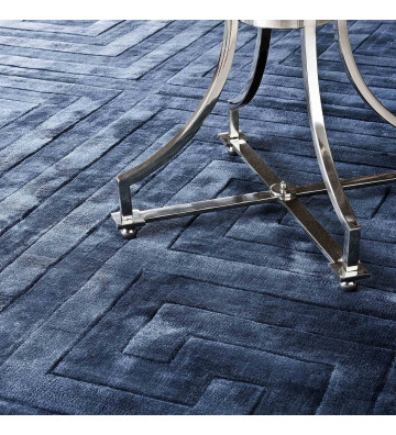 Tappeto Baldwin geometrico blu 3x4 mt - Eichholtz - Nardini Forniture
