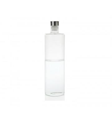 Bottiglia per acqua tonda in vetro con tappo 1,5L - Andrea House - Nardini Forniture