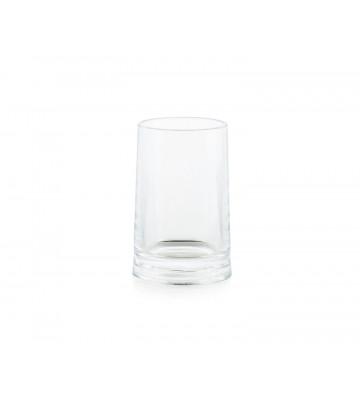 Portaspazzolino cilindrico in acrilico trasparente Ø7,5x11,5 cm - Andrea House - Nardini Forniture