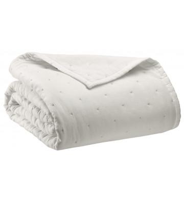 Copriletto Ming bianco trapuntato 260x260cm - Vivaraise - Nardini Forniture