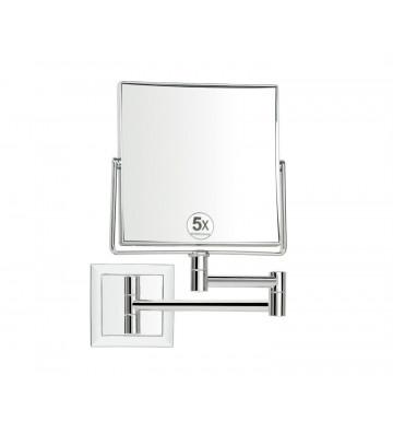 Specchio quadrato da parete con ingrandimento 15x15cm - Andrea House - Nardini Forniture
