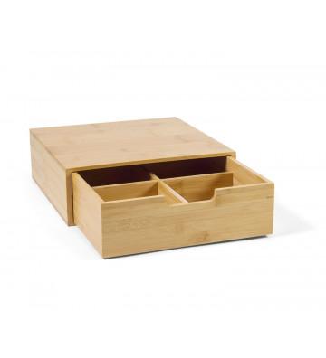 Scatola in legno di bambù 4...